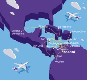 destinos wingo colombia