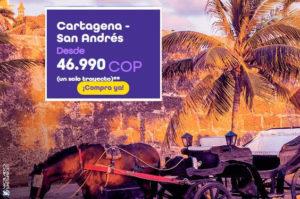 Tiquetes Aéreos desde 46.990 COP con Wingo