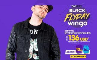 Black Flyday en Pasajes Aereos con Wingo